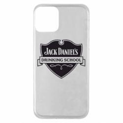 Чехол для iPhone 11 Jack Daniel's Drinkin School