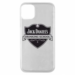 Чехол для iPhone 11 Pro Jack Daniel's Drinkin School