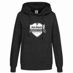 Женская толстовка Jack Daniel's Drinkin School - FatLine