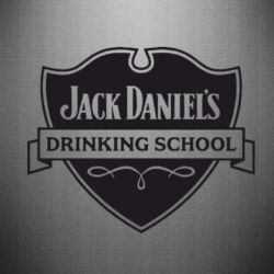 Наклейка Jack Daniel's Drinkin School - FatLine