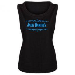 Женская майка Jack Daniel's Logo - FatLine