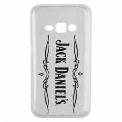 Чехол для Samsung J1 2016 Jack Daniel's Logo