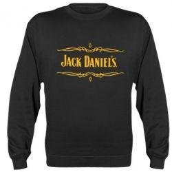 Реглан (свитшот) Jack Daniel's Logo - FatLine