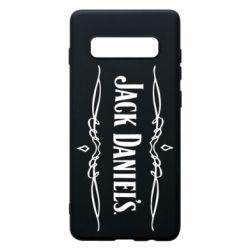 Чехол для Samsung S10+ Jack Daniel's Logo