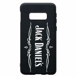 Чехол для Samsung S10e Jack Daniel's Logo