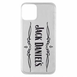 Чехол для iPhone 11 Jack Daniel's Logo
