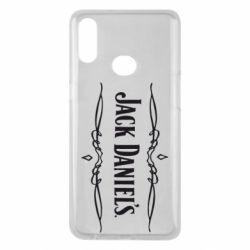 Чехол для Samsung A10s Jack Daniel's Logo