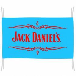 Флаг Jack Daniel's Logo