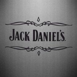 Наклейка Jack Daniel's Logo - FatLine
