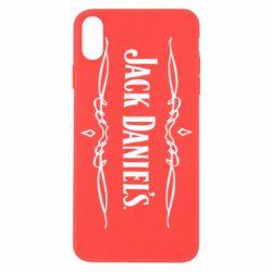 Чехол для iPhone X/Xs Jack Daniel's Logo