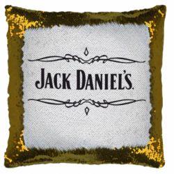 Подушка-хамелеон Jack Daniel's Logo