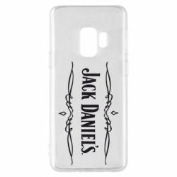 Чехол для Samsung S9 Jack Daniel's Logo