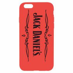 Чехол для iPhone 6 Jack Daniel's Logo