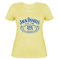 Женская футболка Jack Daniel's Old Time - FatLine