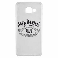 Чехол для Samsung A3 2016 Jack Daniel's Old Time