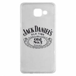 Чехол для Samsung A5 2016 Jack Daniel's Old Time