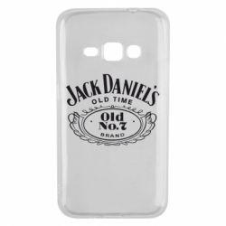 Чехол для Samsung J1 2016 Jack Daniel's Old Time