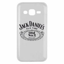 Чехол для Samsung J2 2015 Jack Daniel's Old Time