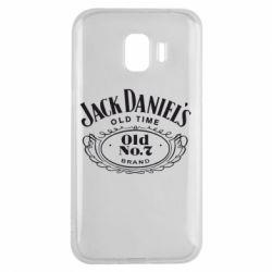 Чехол для Samsung J2 2018 Jack Daniel's Old Time