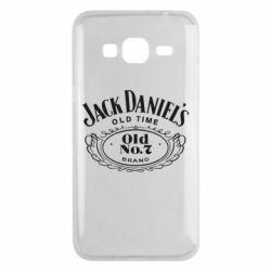 Чехол для Samsung J3 2016 Jack Daniel's Old Time
