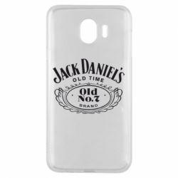 Чехол для Samsung J4 Jack Daniel's Old Time