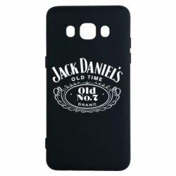 Чехол для Samsung J5 2016 Jack Daniel's Old Time