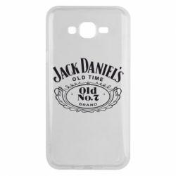 Чехол для Samsung J7 2015 Jack Daniel's Old Time
