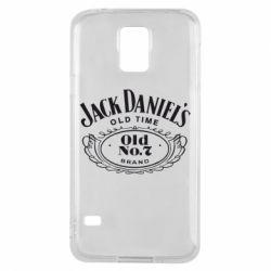 Чехол для Samsung S5 Jack Daniel's Old Time