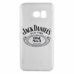 Чехол для Samsung S6 EDGE Jack Daniel's Old Time