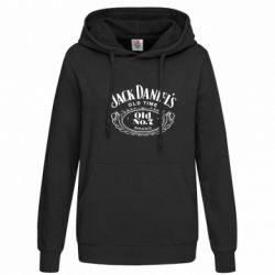 Женская толстовка Jack Daniel's Old Time - FatLine
