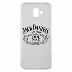 Чехол для Samsung J6 Plus 2018 Jack Daniel's Old Time