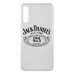 Чехол для Samsung A7 2018 Jack Daniel's Old Time