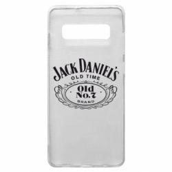 Чехол для Samsung S10+ Jack Daniel's Old Time