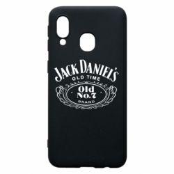Чехол для Samsung A40 Jack Daniel's Old Time