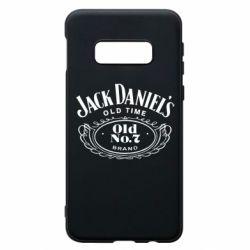 Чехол для Samsung S10e Jack Daniel's Old Time