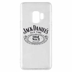 Чехол для Samsung S9 Jack Daniel's Old Time