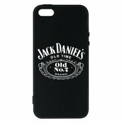 Чехол для iPhone5/5S/SE Jack Daniel's Old Time