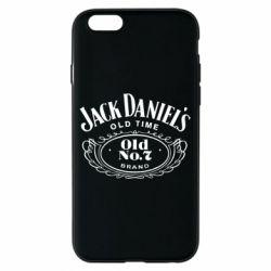 Чехол для iPhone 6/6S Jack Daniel's Old Time
