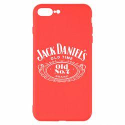 Чехол для iPhone 8 Plus Jack Daniel's Old Time