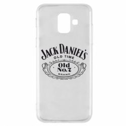 Чехол для Samsung A6 2018 Jack Daniel's Old Time