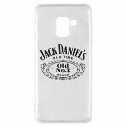 Чехол для Samsung A8 2018 Jack Daniel's Old Time