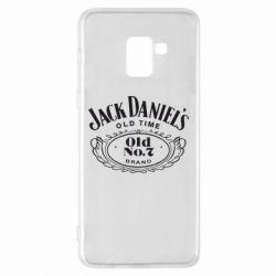 Чехол для Samsung A8+ 2018 Jack Daniel's Old Time