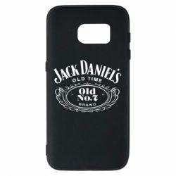 Чехол для Samsung S7 Jack Daniel's Old Time