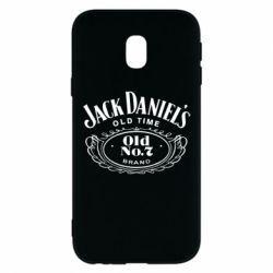 Чехол для Samsung J3 2017 Jack Daniel's Old Time