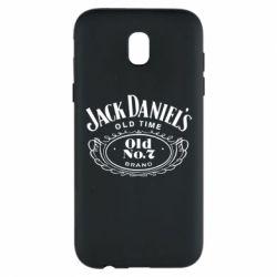 Чехол для Samsung J5 2017 Jack Daniel's Old Time
