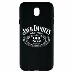 Чехол для Samsung J7 2017 Jack Daniel's Old Time