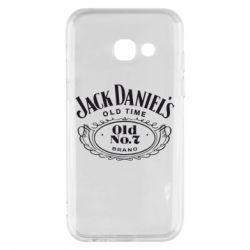 Чехол для Samsung A3 2017 Jack Daniel's Old Time