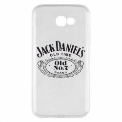 Чехол для Samsung A7 2017 Jack Daniel's Old Time