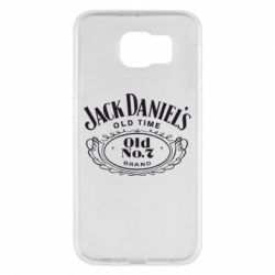 Чехол для Samsung S6 Jack Daniel's Old Time