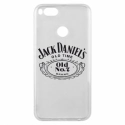 Чехол для Xiaomi Mi A1 Jack Daniel's Old Time